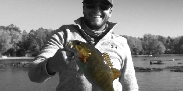 Ryley S 2lb smallie Head Lake_B-W
